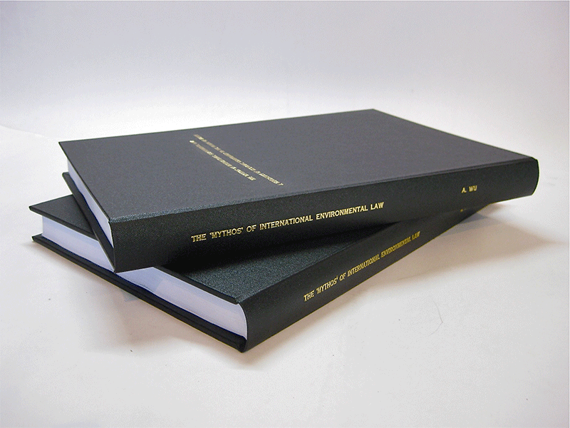 thesis hard cover binding Huge savings on our hard cover binding starter kit mybindingcom has a wide selection of binding covers, all at affordable prices.