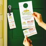 Door Hanger Tear Cards