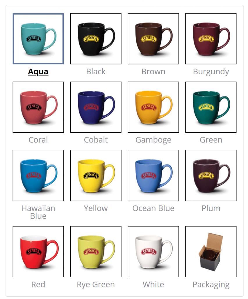 Bistro Mug Colours
